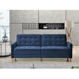 Talmadge Velvet 80 Square Arms Sofa Bed by Corrigan Studio®