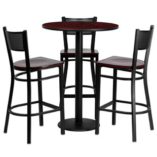 Lomonaco 4 Piece Pub Table Set