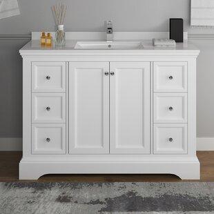 Top Reviews Windsor 48 Single Bathroom Vanity Set ByFresca