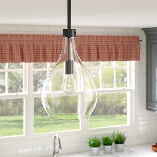 Nan 1-Light Teardrop Pendant by Laurel Foundry Modern Farmhouse