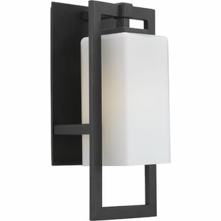 Latitude Run Magdeline 1-Light Outdoor Wall Sconce
