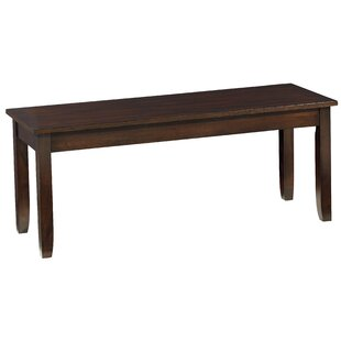 Charlton Home Braselton Wood Bench