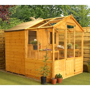 Traditional 6 Ft W X 8 D Greenhouse