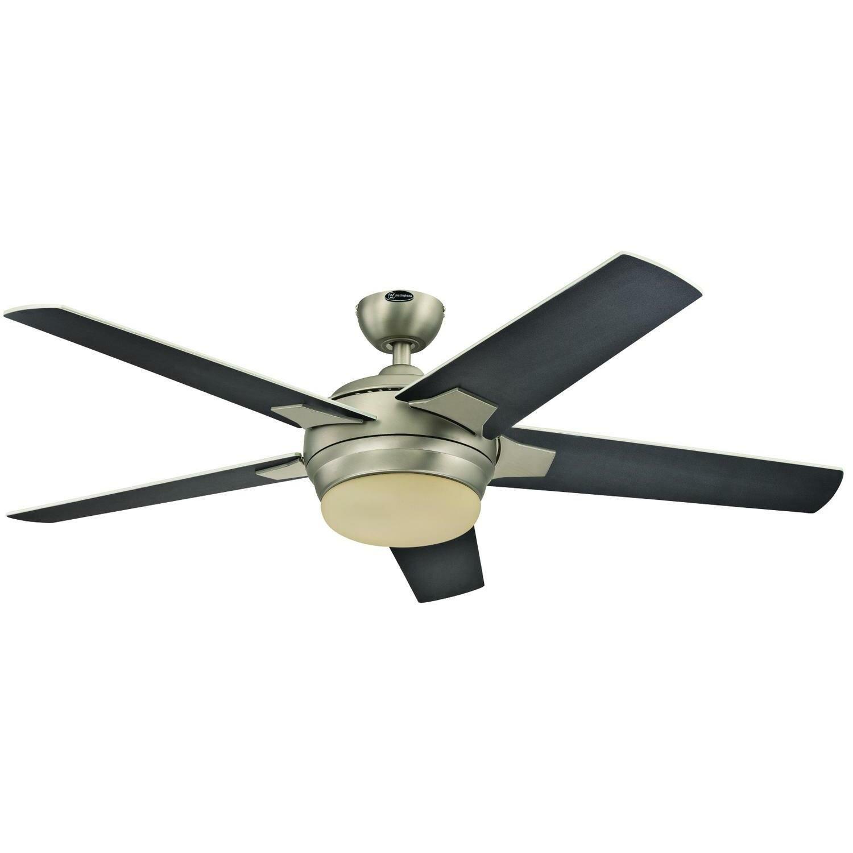 Ebern Designs 52 Virgie Two Light 5 Blade Ceiling Fan Reviews Wayfair