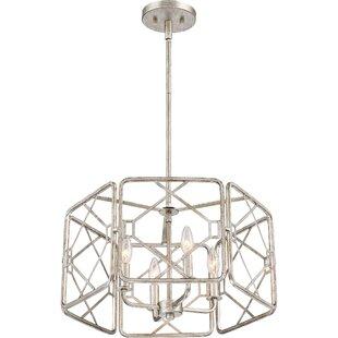Mercer41 Roshan 4-Light Drum Pendant