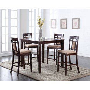 Belmont 5 Piece Counter Height Dining Set Bloomsbury Market