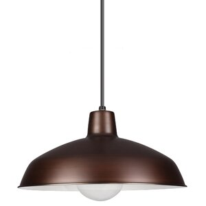 Henn 1-Light Bowl Pendant