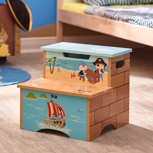 Pirates Island Fantasy Fields Step Stool with Storage by Fantasy Fields