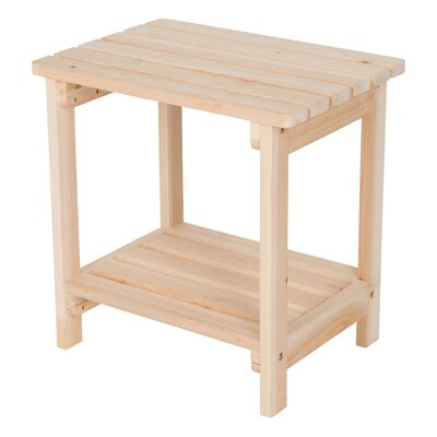 Arcel Wood Side Table by Beachcrest Home