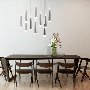 Bergman 10-Light Cluster Pendant by Orren Ellis