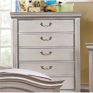 Hillsboro 5 Drawer Chest by Harriet Bee