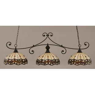Copeland Billiard 3-Light Kitchen Island Dome Pendant by Astoria Grand