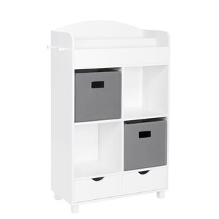 Reliford Kids Cubby Storage 39.75 Cube Unit by Harriet Bee