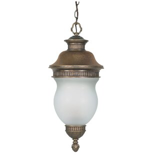 Topsham 3-Light Outdoor Pendant by World Menagerie