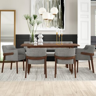 Mukai 6 Piece Dining Set Mercury Row