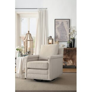 Wetumka Swivel Armchair by Gracie Oaks