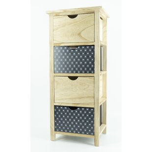 Geneve 25 X 78cm Free Standing Cabinet By 17 Stories
