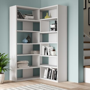 Molly Corner Bookcase By Symple Stuff