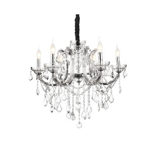 CWI Lighting Riley 6-Light Chandelier