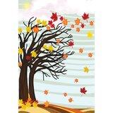 Autumn Winds 28 x 40 inch House Flag