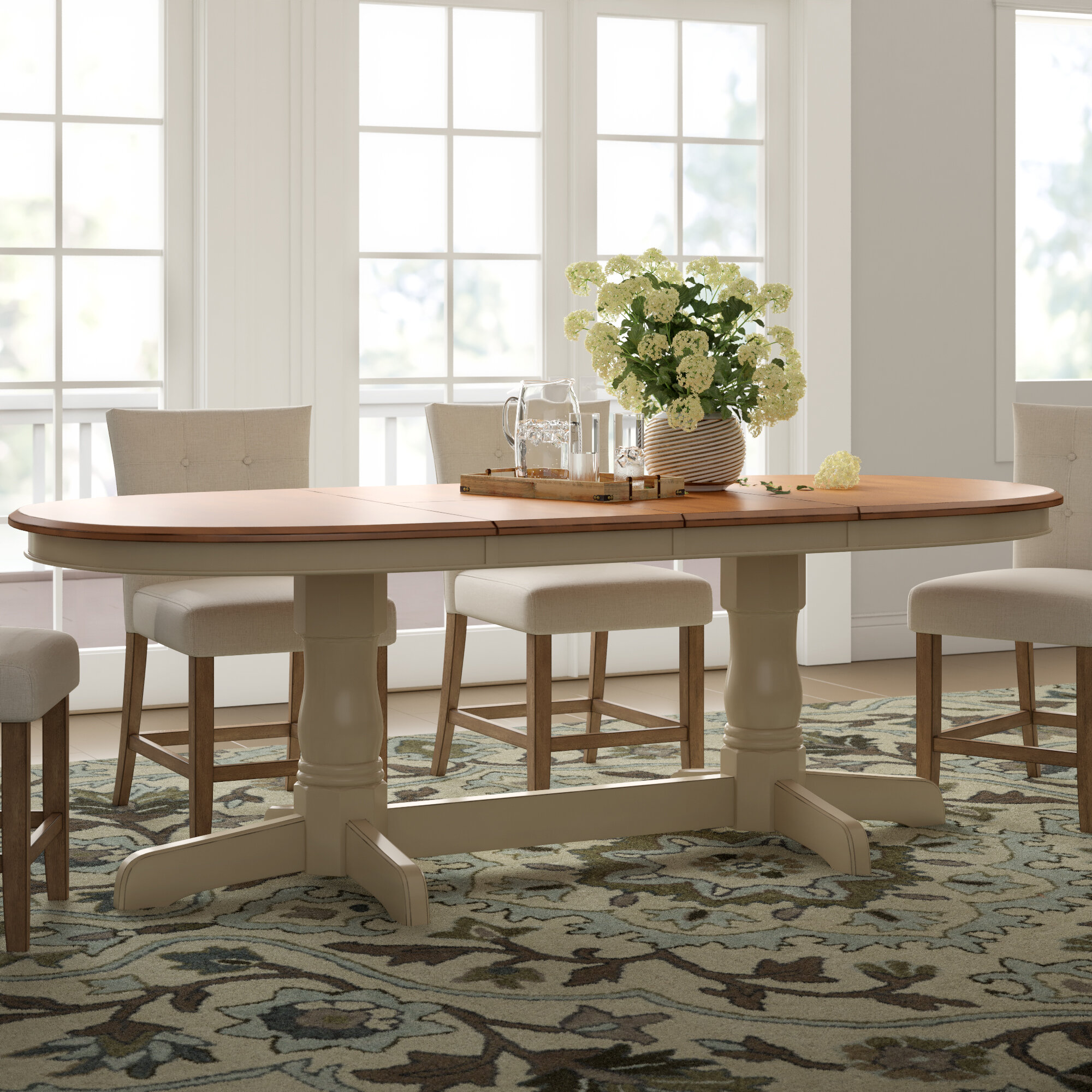 Kinsman Extendable Solid Wood Dining Table