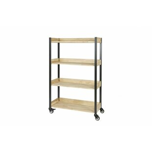 Caston Trolley Metal Serving Cart By Williston Forge