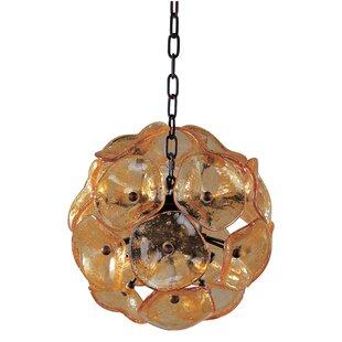Asherton 8-Light Globe Chandelier by Bungalow Rose