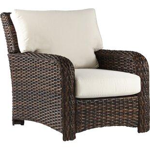 Bay Isle Home Chorio Patio Chair with Cus..