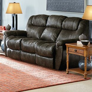 Yves 2 Arm Double Reclining Sofa Red Barrel Studio