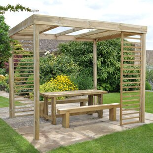 Errol 3m X 2.4m Pergola By Sol 72 Outdoor