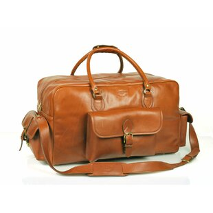 18 Leather Overnight Carry On Duffel