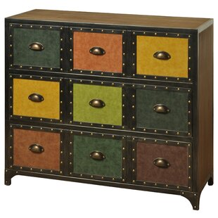 17 Stories Chico 3 Drawer Accent Chest
