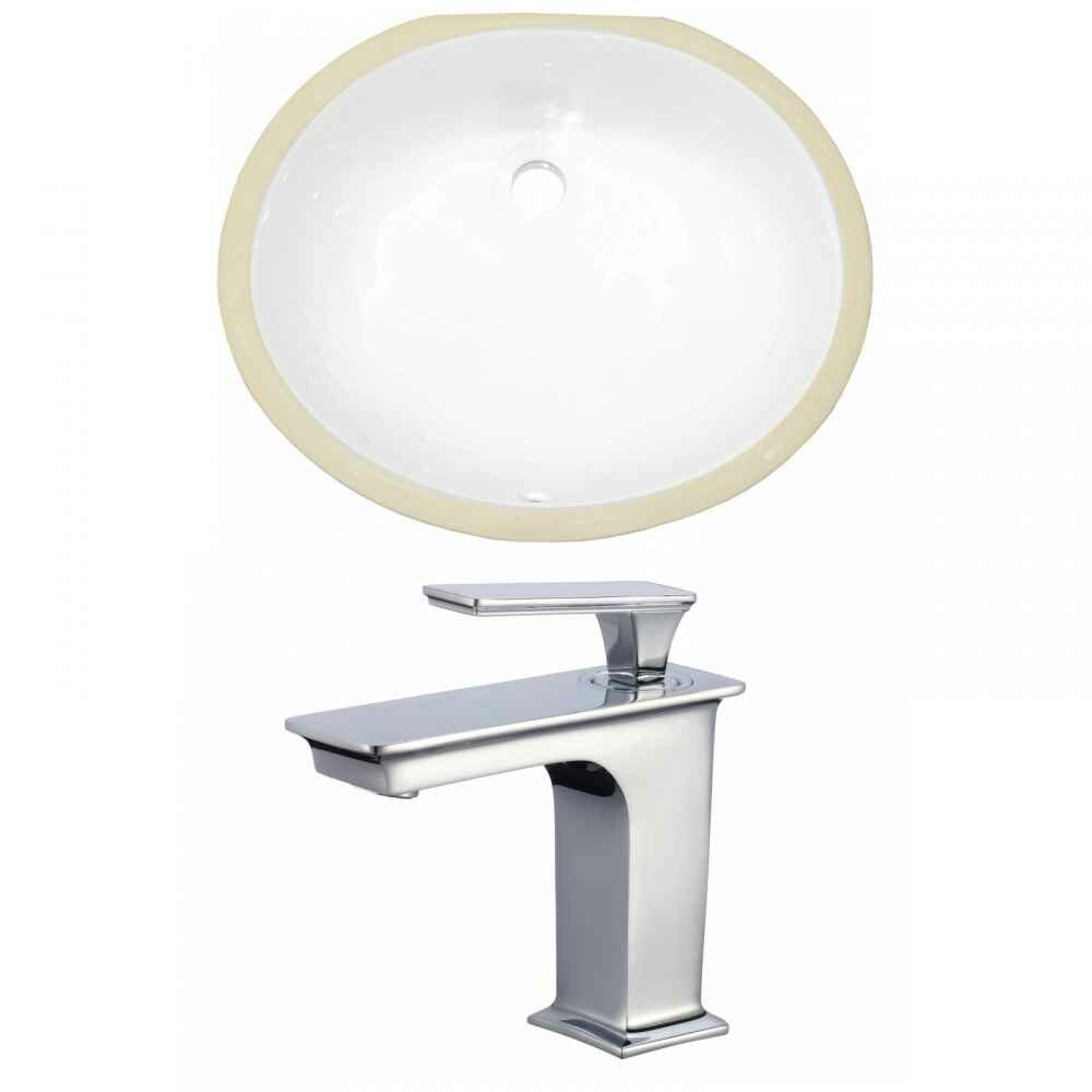 Royalpurplebathkitchen Cupc Ceramic Oval Undermount Bathroom Sink With Faucet And Overflow Wayfair