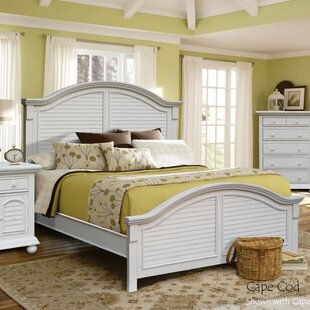 Laguna Panel Bed by Rosecliff Heights