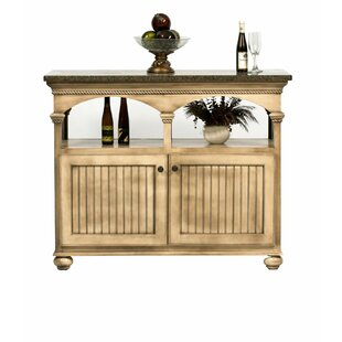 American Premiere Kitchen Island with Granite Top Eagle Furniture Manufacturing