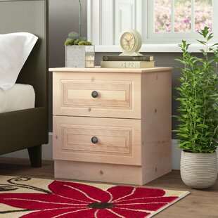 Fenderson 2 Drawer Bedside Table By Brambly Cottage