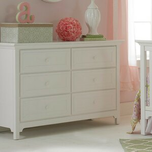 Carino 6 Drawer Double Dresser by Ti Amo