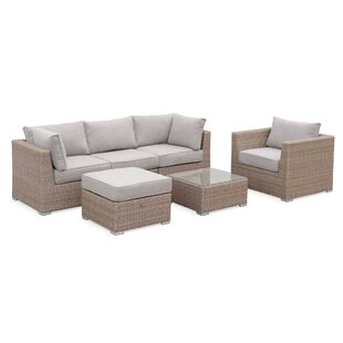 Ardleigh 5 Seater Rattan Sofa Set By Sol 72 Outdoor