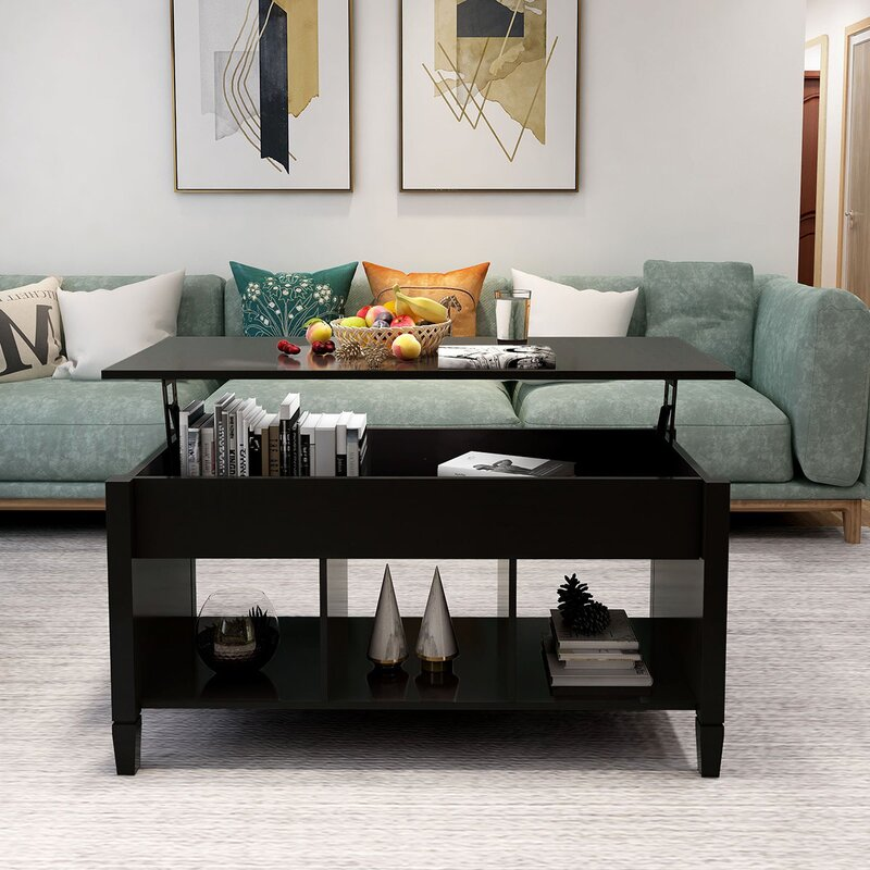 Red Barrel Studio Arsh Lift Top Coffee Table With Storage Wayfair