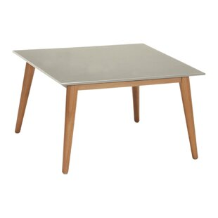 Ashly Solid Wood And Plastic Coffee Table By Fjørde & Co