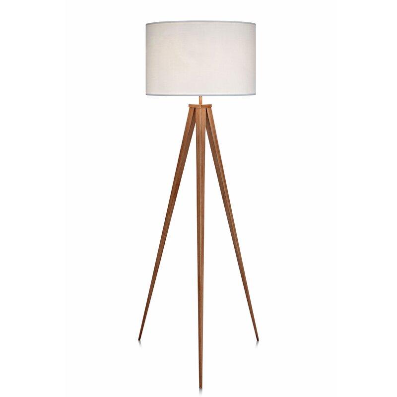 Modern Floor Lamps, Best Floor Lamps, Romanza Tripod Floor Lamp