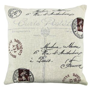 postale tapestry decorative throw pillow