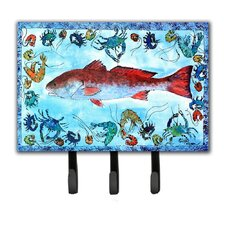 Fish Key Holder by Caroline's Treasures