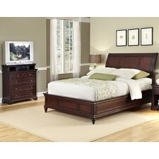 Curran Sleigh 2 Piece Bedroom Set by Three Posts