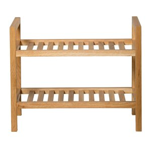 New Waverly 2 Tier Narrow Shoe Rack