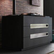 Monroe 3 Drawer Dresser Standard Dresser by Modloft