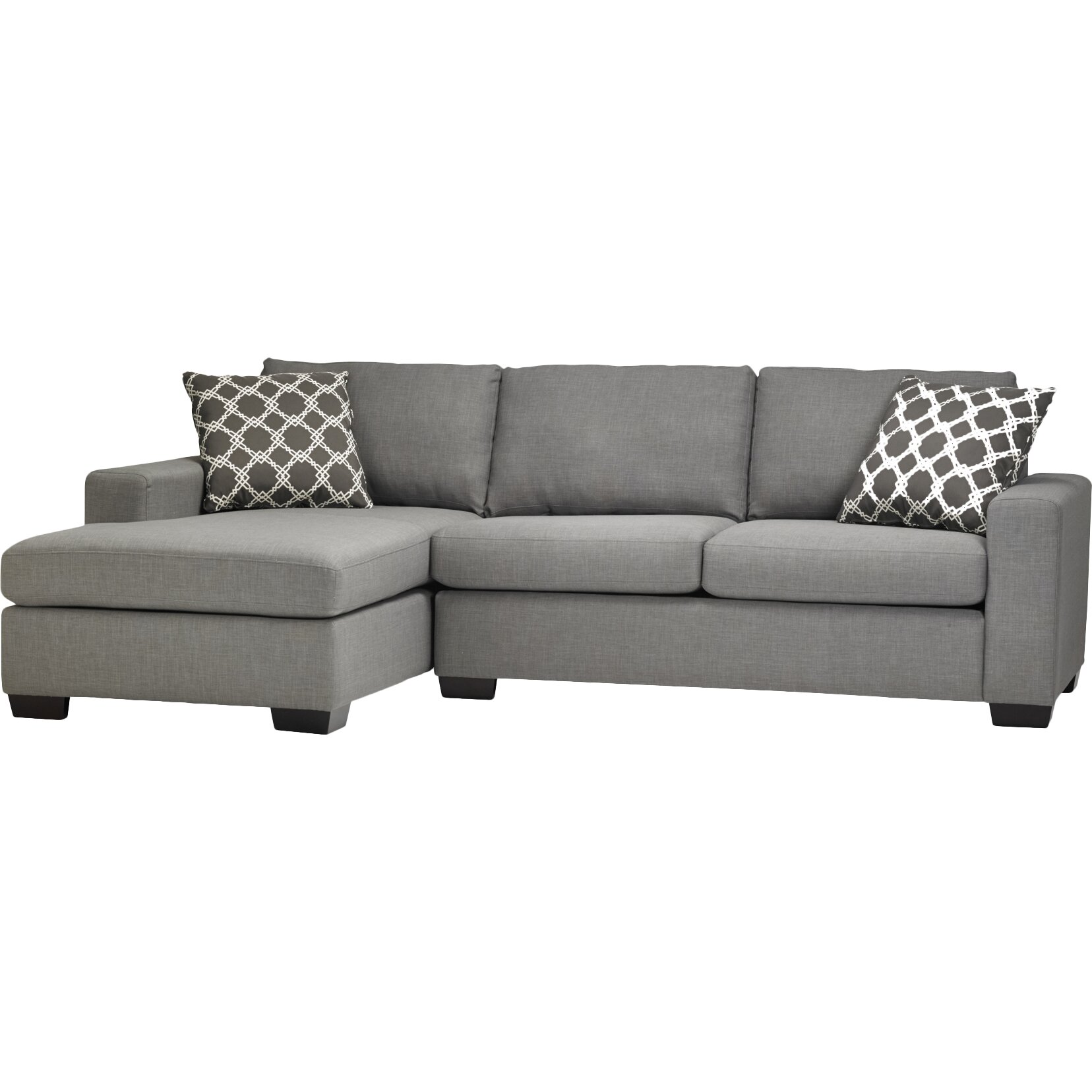 Sofa Bed Sectional Amazing Modern Tufted Brown Microfiber