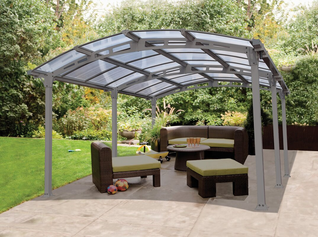 ... Portable Patio Cover By Palram Arcadia 5000 12 Ft W X 16 5 Ft D Canopy  U0026 ...