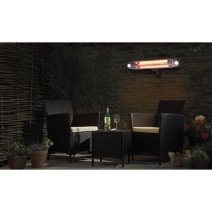 Taveras Electric Patio Heater By Sol 72 Outdoor