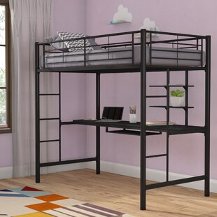 Pinery Twin Bed With Desk